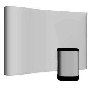 Ścianka wystawiennicza + trybunka